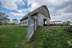 Biltmore庄园的谷仓 库存照片