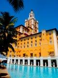 Biltmore旅馆,科勒尔盖布尔斯佛罗里达 库存照片
