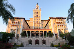 biltmore有历史的旅馆迈阿密 免版税图库摄影