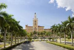 The Biltmore in Coral Gables. FL.USA. The historic resort is located in the city of Coral Gables, Florida near Miami. the Biltmore Hotel became the hallmark of stock image
