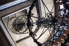 Biltmore Estate Grand Staircase Chandelier Stock Image