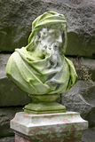 Biltmore Estate Stone Bust Royalty Free Stock Photo