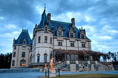 Free Biltmore From South Terrace Royalty Free Stock Photos - 50041128
