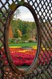 Biltmore godsträdgårdar, Asheville NC arkivbilder