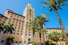 Biltmore Hotel. CORAL GABLES, FL USA - MAY 23, 2014: The historic and luxurious Spanish style Biltmore Hotel built in 1925 located in Coral Gables