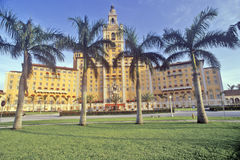 The Biltmore Hotel at Coral Gables, Miami, Florida Stock Photography