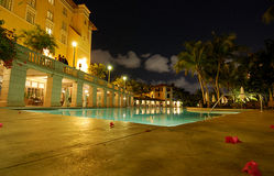 Biltmore Hotel Pool Royalty Free Stock Photography