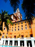Biltmore hotell, Coral Gables Florida Royaltyfri Foto