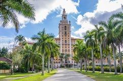 Biltmore hotell, Miami Royaltyfria Foton