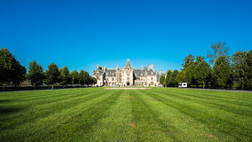 Biltmore House royalty free stock image
