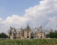 Biltmore House from the Ground Up Stock Photography