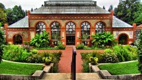 Biltmore-Konservatorium in der Blüte lizenzfreie stockbilder
