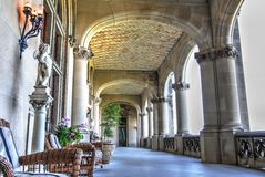 Biltmore Loggia Stock Photo