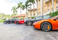 Biltmorehotel, Miami Stock Afbeelding