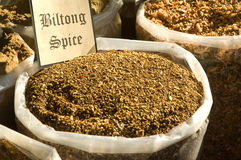 Biltong spice Royalty Free Stock Photos