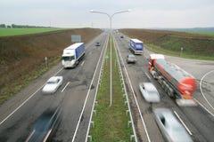 Biltrafik Royaltyfri Bild