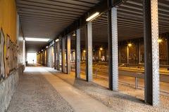Biltunnel Arkivfoton