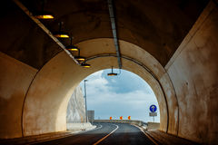 Biltunnel Arkivbilder