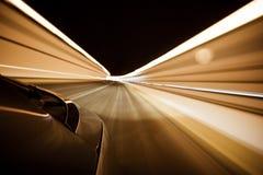 biltunnel Fotografering för Bildbyråer