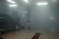bilwash Royaltyfria Foton