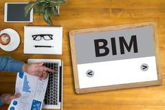 BIM royalty-vrije stock foto