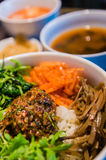 Bimbimbap Royalty Free Stock Photography