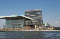 Bimhuis concert hall in Amsterdam Stock Photography