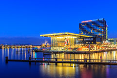 Bimhuis Hotelowy Amsterdam i Mövenpick holandie Zdjęcie Stock