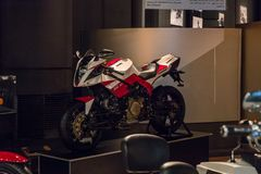 Bimota FESL 30 motorcycle at the exhibition in the King Abdullah II car museum in Amman, the capital of Jordan. Amman, Jordan, December 07, 2018 : Bimota FESL 30 stock photo