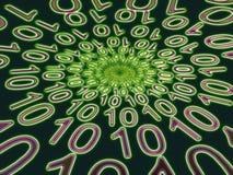 Binário-Radial Imagem de Stock