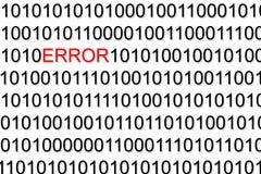 Binär Code Lizenzfreies Stockbild