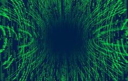 binär Code 3D Tapeten Wiedergabe 3d Stockfotografie