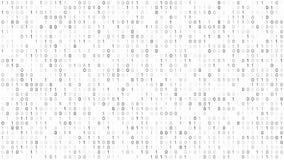 Binär Code-Schirm lizenzfreie abbildung
