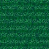 Binär datorkod som upprepar vektorbakgrundsillustrationen C Royaltyfri Foto