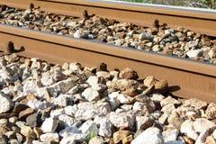 Binär järnväg Arkivbilder