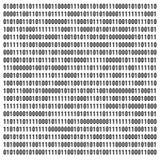 binär kod royaltyfri illustrationer