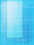 binär kod Arkivfoto