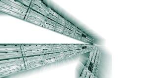 binär kod för bakgrund Royaltyfri Bild