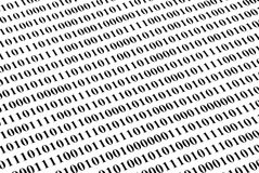 binär kod för bakgrund Arkivfoton