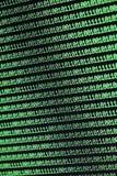 binär kod för bakgrund Royaltyfri Foto