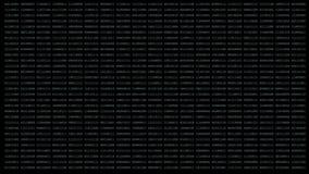 Binär matrisbakgrund arkivfilmer