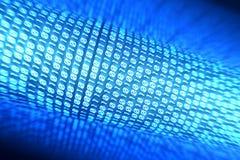binär ström arkivfoto