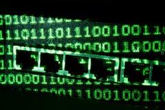 binär strömbrytare Fotografering för Bildbyråer