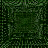 binär tunnel Arkivbild