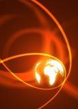 binär värld Royaltyfri Fotografi