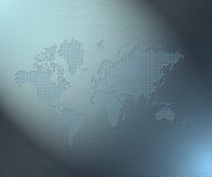 binär värld Vektor Illustrationer