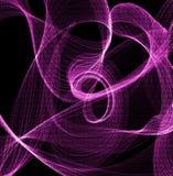 Binära strömmar av att virvla runt Arkivfoto