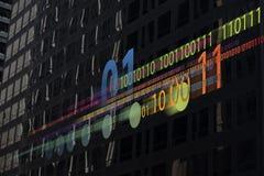 Binäre Daten Lizenzfreie Stockfotos