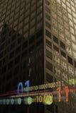 Binäre Daten Stockfotos