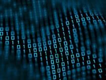 Binäre Daten Lizenzfreies Stockfoto